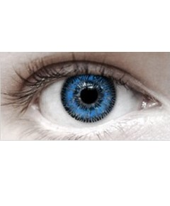 Eye Spy Three Tone Blue Contact Lens