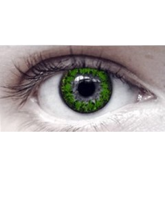 Eye Spy Three Tone Green Contact Lens