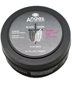 Black Angel For Men Strong Hold Pomade