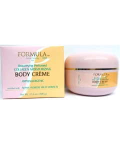 Formula AHA Beautifying Collagen Moisturizing Body Creme