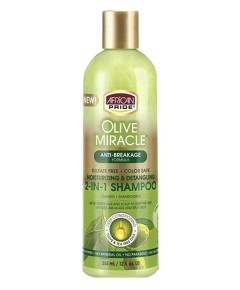 Olive Miracle 2 In1 Shampoo And Conditioner