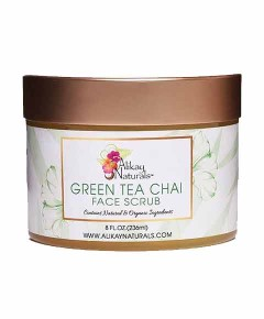Alikay Naturals Green Tea Chai Face Scrub