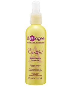 Aphogee Curlific Moisture Rich Leave In Spray