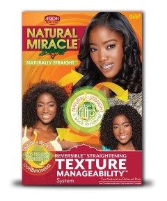 Naturally Straight Miracle Texture Manageability System