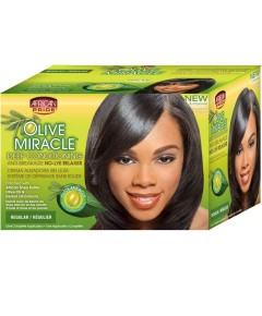 Olive Miracle Deep Conditioning No Lye Relaxer