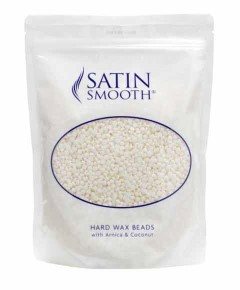 Satin Smooth Hard Wax Beads With Arnica And Coconut