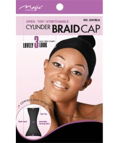 Magic Collection Stretchable Cylinder Braid Cap