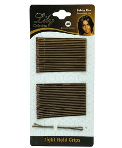 Lily Bob Pins Card Brown