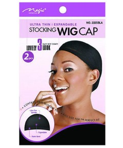 Magic Collection Ultra Thin Expandable Stocking Wig Cap