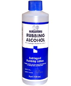 Rubbing Alcohol With Isopropyl