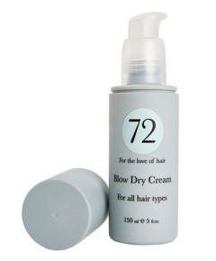 72 Hair Blow Dry Cream For All Hair Types