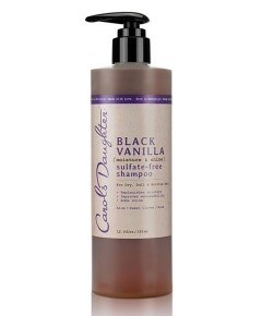 Black Vanilla Moisture And Shine Sulfate Free Shampoo