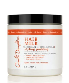 Hair Milk Nourishing And  Conditioning Styling Pudding