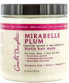 Mirabelle Plum Biotin Hair Mask
