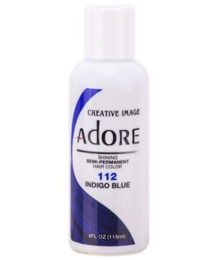 Adore Shining Semi Permanent Hair Color Indigo Blue