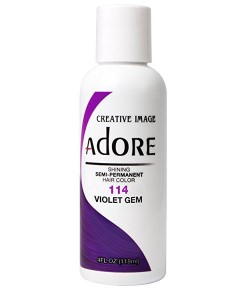 Adore Shining Semi Permanent Hair Color Violet Gem