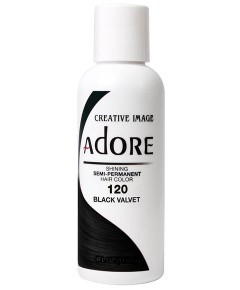Adore Shining Semi Permanent Hair Color Black Velvet