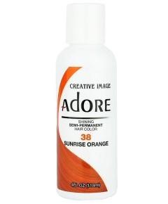 Adore Shining Semi Permanent Hair Color Sunrise Orange