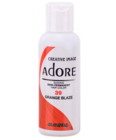 Adore Shining Semi Permanent Hair Color Orange Blaze