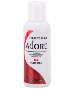 Adore Shining Semi Permanent Hair Color Ruby Red