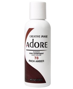 Adore Shining Semi Permanent Hair Color Rich Amber