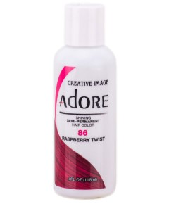 Adore Shining Semi Permanent Hair Color Raspberry Twist