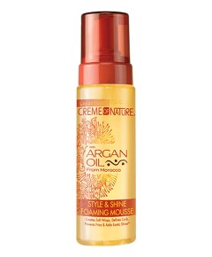 Style And Shine Argan Oil Mousse