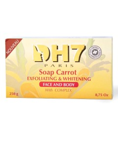 DH7 Exfoliating And Whitening Carrot Soap