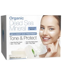 Dead Sea Mineral Tone And Protect Duo Treatment