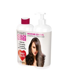 Color Lover Moisture Control Shampoo And Conditioner Duo