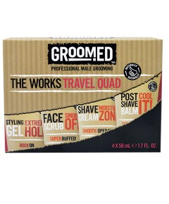 Groomed The Works Travel Quad
