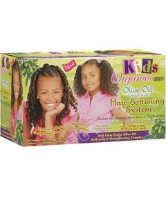 Kids Organics Olive Oil Ultra Gentle Hair Softening System Kit