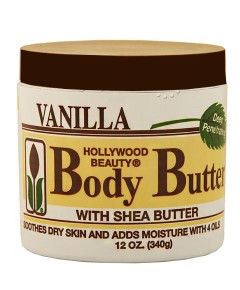 Hollywood Beauty Vanilla Body Butter With Shea Butter