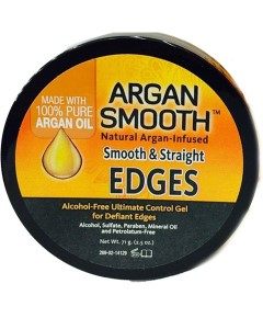 Argan Smooth And Straight Edges With Argan Infused