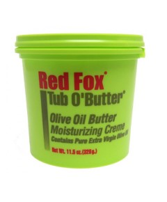 Red Fox Tub O Butter Olive Oil Moisturizing Creme
