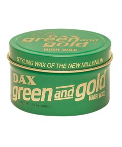 Dax Green And Gold Wax
