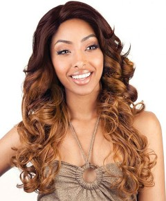 Soft Swiss HH Brown Sugar BS207  Lace Front Wig