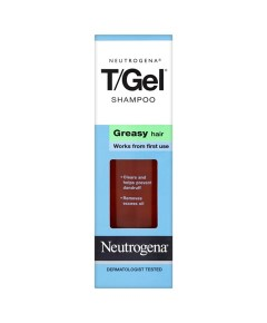 Neutrogena T Gel Shampoo For Greasy Hair