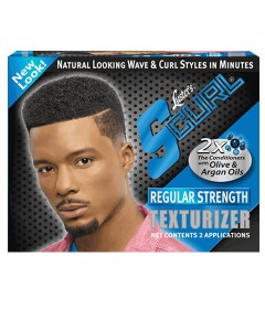 S Curl Texturizer With Olive And Argan Oil