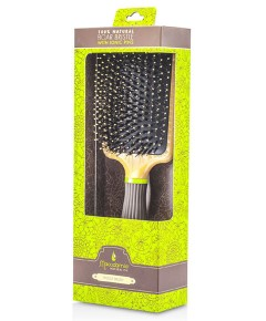 Natural Oil Paddle Brush With Boar Bristles