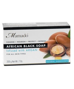 African Black Soap Infused With Argan