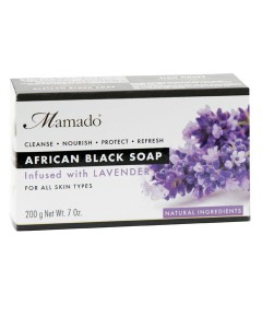 African Black Soap Infused With Lavender