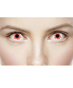 Xtreme Eyez Halloween Contact Lens Blood Splat