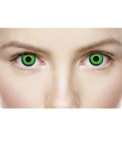Xtreme Eyez Halloween Contact Lens Green Warewolf