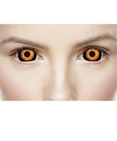 Xtreme Eyez Halloween Contact Lens Mini Sclera Beast