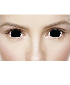 Xtreme Eyez Halloween Contact Lens Mini Sclera Corruption
