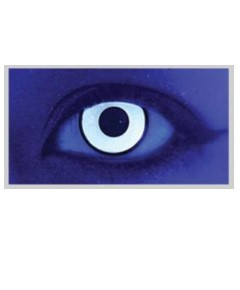 Xtreme Eyez Halloween Contact Lens Glass White