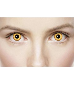 Xtreme Eyez Halloween Contact Lens Golden Vampire