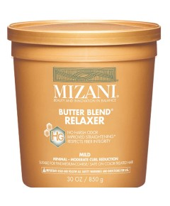 Butter Blend For Relaxer For Mild Relaxer