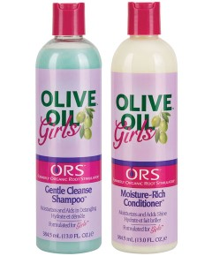 ORS Olive Oil Girls Conditioner And Shampoo